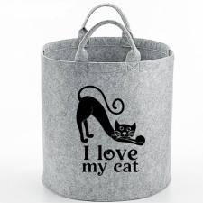 238-I love my cat  opbergmand