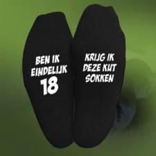 217-Ben ik eindelijk 18 krijg ik deze kut sokken